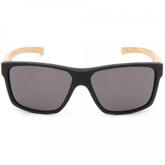 9678b2916 Óculos de Sol HB Freak Matte Lenses Black Wood Gray