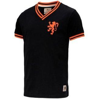 Camisa Retrô Gol Seleção Holanda Edição Limitada Masculina 740488d5001d5