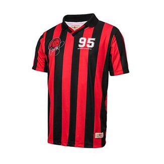 ecb4a5a8cd511 Camisa Athletico Paranaense Retrô Gol Oséas 95 Masculina