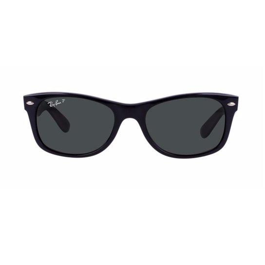 ae8587e32 Óculos de Sol Ray Ban New Wayfarer RB2132LL 901 - Preto   Netshoes