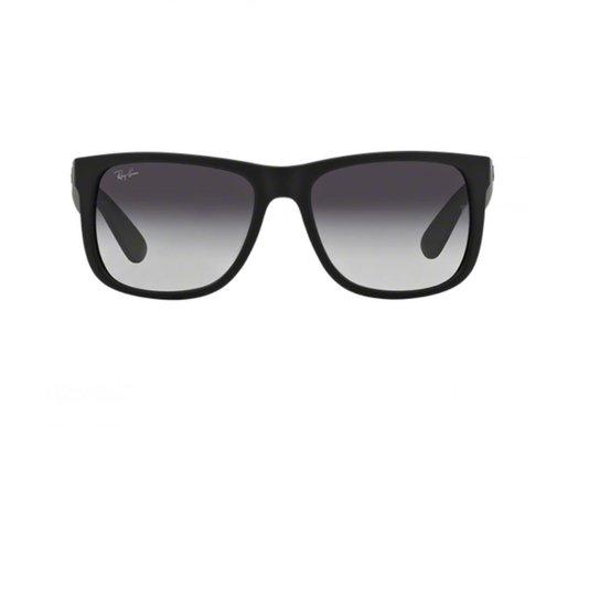 1e1c159c3 Óculos de Sol Ray Ban Justin RB4165L 601/8G - Preto | Netshoes