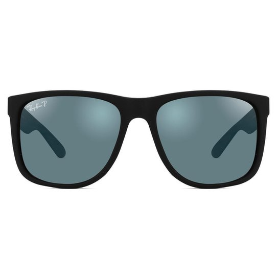 67fdc947495f4 Óculos de Sol Ray Ban Justin Polarizado RB4165L 622 T3 - Preto ...