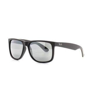 d5a0411b3 Óculos de Sol Ray Ban Justin Quadrado Dia a Dia Masculino