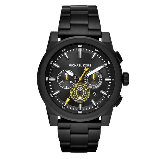 a9ebd8387 Relógio Michael Kors Unissex Essential Grayson - MK8600/1PN MK8600/1PN -  Preto