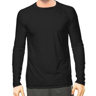 0598a9129a Camisa Térmica Camisa da Latinha com Proteção Solar UV50+ Masculina