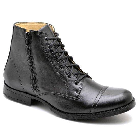 0332973c111 Bota Top Franca Shoes Casual - Preto - Compre Agora
