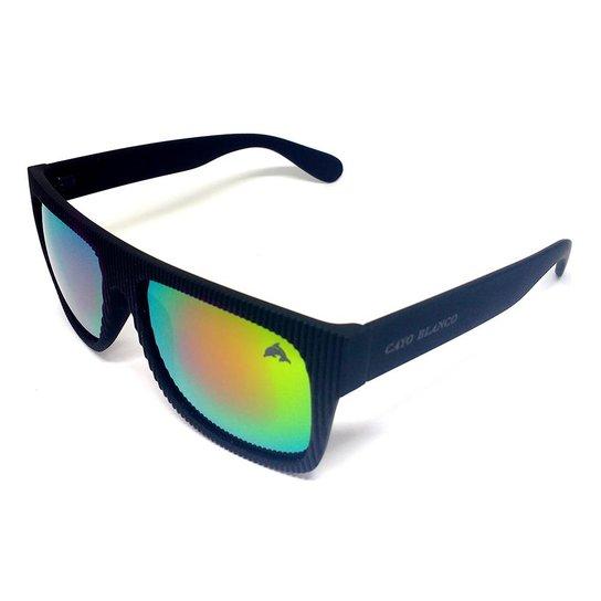 fc034c817 Óculos Cayo Blanco Espelhado Modelo Esportivo Quadrado - Preto