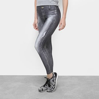 0182ad65c Calça Legging Live! Jeans Daily Look