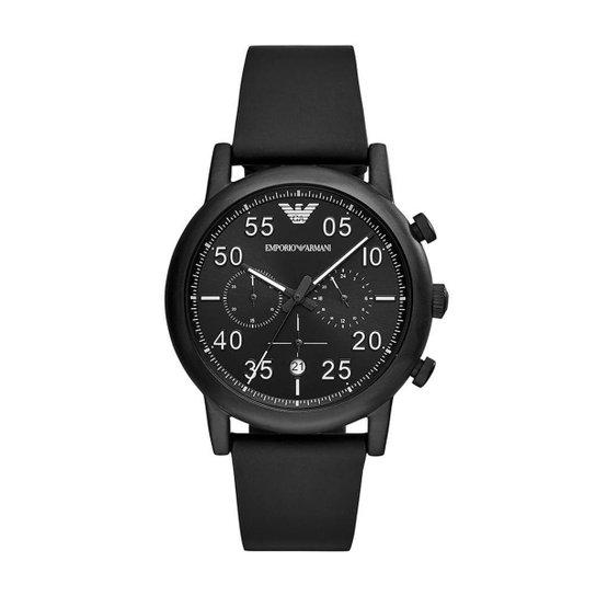 cda4644c09c Relógio Empório Armani Masculino Luigi - AR11133 0PN AR11133 0PN - Preto