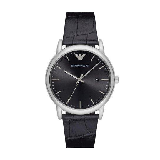 a90d0e4e2b9 Relógio Emporio Armani Masculino Classic - AR2500 0PN AR2500 0PN - Preto