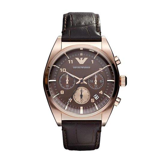 696b8763712 Relógio Emporio Armani Masculino Analógico HAR0371 Z HAR0371 Z - Preto