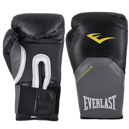 Luva Boxe Everlast Pro Style Elite Training 12 Oz - Preto - Compre ... d686a55032149