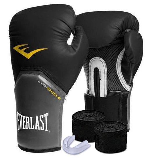 07c535bd4 Kit Muay Thai Luva Everlast 08OZ Bandagem Bucal - Compre Agora ...