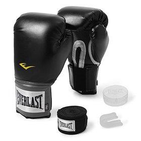 a520a9500 LANÇAMENTO. (3). Kit Luva de Boxe Everlast Training 12 Oz ...