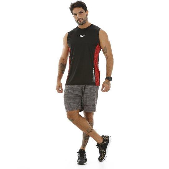 Camiseta Everlast Machão Dry Masculina - Preto - Compre Agora  fe7033fee69