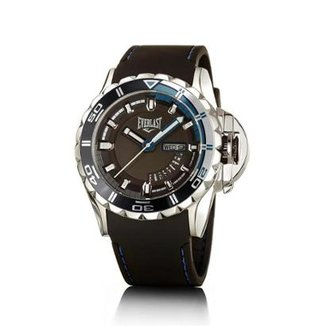 48108342fb3 Relógio Everlast Masculino Pulseira Silicone Analógico