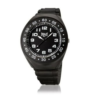 c5472dca5df Relógio Pulso Everlast Com Pulseira Em Pu E3031 Masculino
