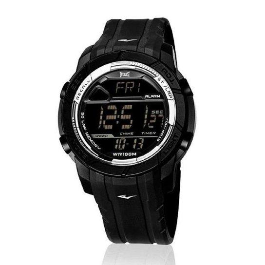 fb39faebb07 Relógio Pulso Everlast Action Digital Caixa Pulseira Abs - Preto ...