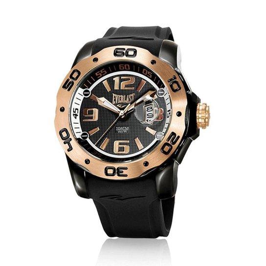 ff83b174d40 Relógio Pulso Everlast Analógico E561 Masculino - Preto - Compre ...