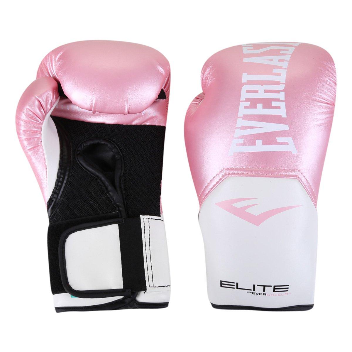 Luva De Boxe/ Muay Thai Everlast Pro Style Elite V2 12 Oz