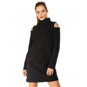 e504f3879 Vestido Amaro Curto Malha Manga Longa - Compre Agora