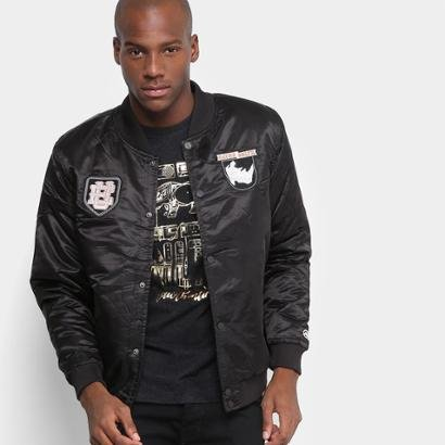 Jaqueta Bomber Ecko College Patches Masculina