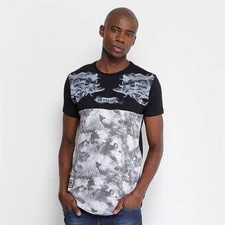 Camiseta Ecko Oversized Estampada Masculina c4133ce4254ec