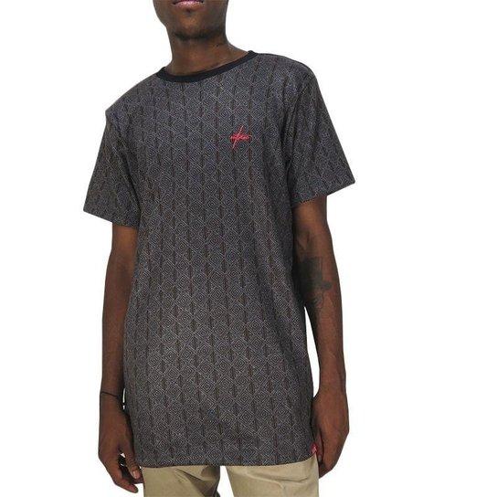 d1075f1a64b5d Camiseta Outlawz Long Line Ethnic - Compre Agora