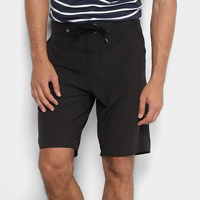Bermuda Hang Loose Hibrida Blacks Masculina