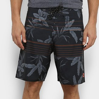 Boardshort Hang Loose Leaves Masculino
