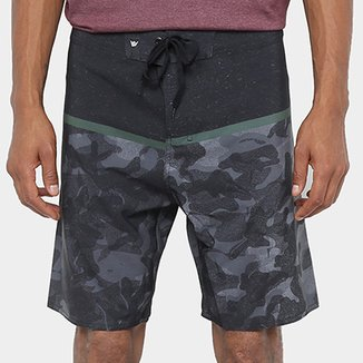 Boardshort Hang Loose Army Masculina