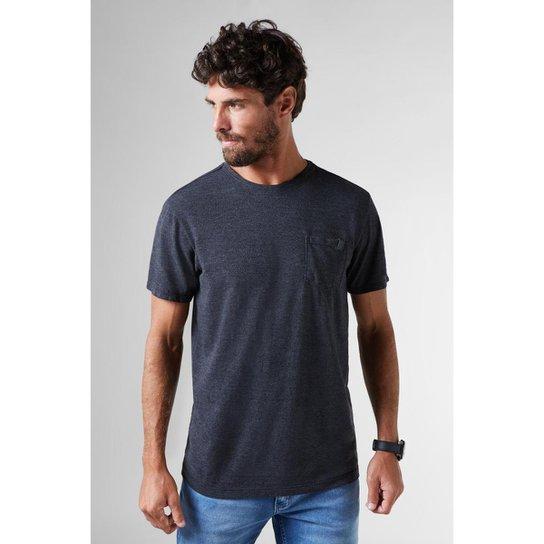 1c2e32d9a Camiseta Pf Enxuto Bolso Mescla Reserva Masculina - Preto   Netshoes