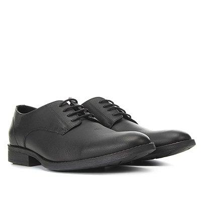 Sapato Social Couro Reserva Cadarço Masculino