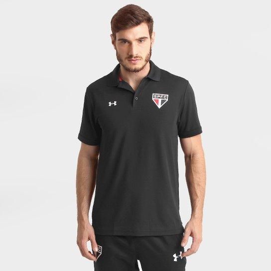 Camisa Polo São Paulo Under Armour 2015 Masculina - Compre Agora ... fdff2094e0618
