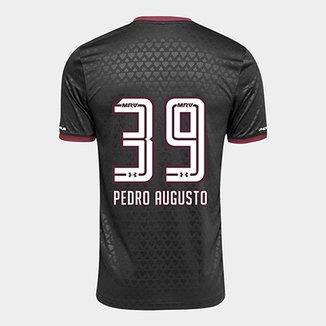 37f3c880ea3a1 Camisa São Paulo III 17 18 nº 39 Pedro Augusto Torcedor Under Armour  Masculina