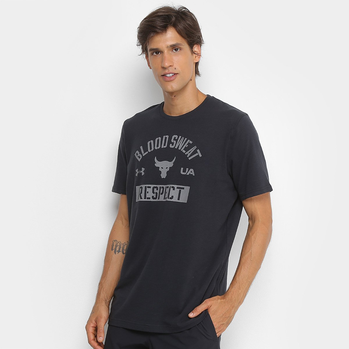fd3f99f3be Camiseta Under Armour Project Rock Bsr Update Ss Masculina