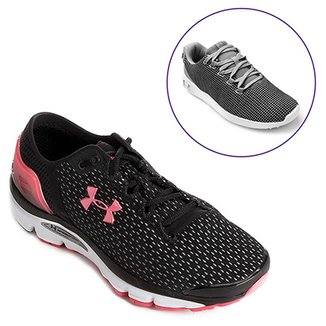 c2a55cff7d5 Kit Tênis Under Armour Charged Intake 2 Feminino+Tênis Under Armour Ripple  SA Feminino