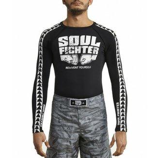 Camiseta Rash Guard Soul Fighter Logo 0ee7a9033ac