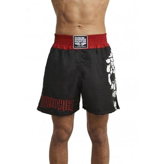 Short Muay Thai Soul Fighter Caveira - Compre Agora  39423375d3ad6