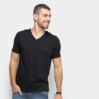 0b0f63965f Compre Camiseta Gola V Masculina Online