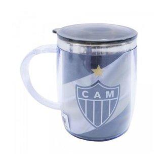 00f3fec43f834 Caneca Térmica Com Tampa 450ml Atlético Mineiro
