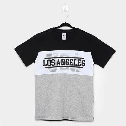 Camiseta Infantil Pulla Bulla Los Angeles Masculina