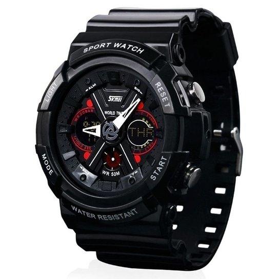 af99dfbaf46 Relógio Skmei Anadigi 0966 - Preto - Compre Agora