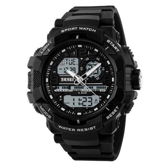6b1403014f1 Relógio Skmei Anadigi 1164 - Preto - Compre Agora