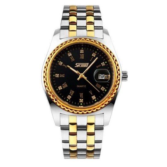 10f4079b36e Relógio Skmei Analógico 9098 - Compre Agora