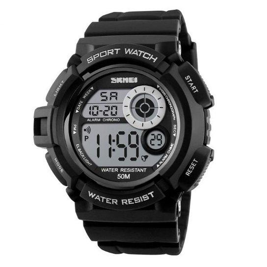 6fc3d123161 Relógio Skmei Digital 1222 - Preto - Compre Agora