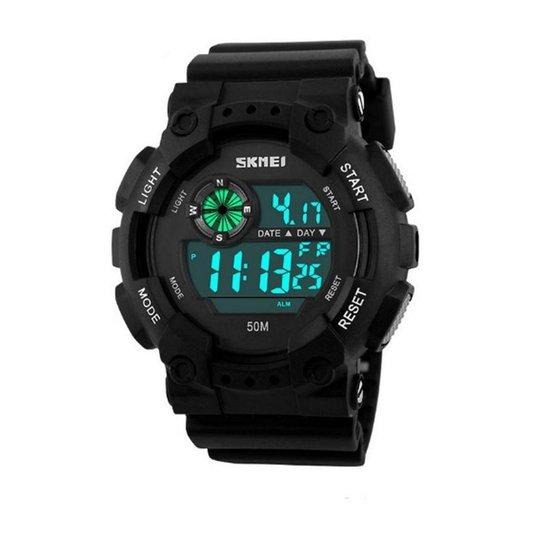 db029b7c9a8 Relógio Skmei Digital 1101 - Preto - Compre Agora