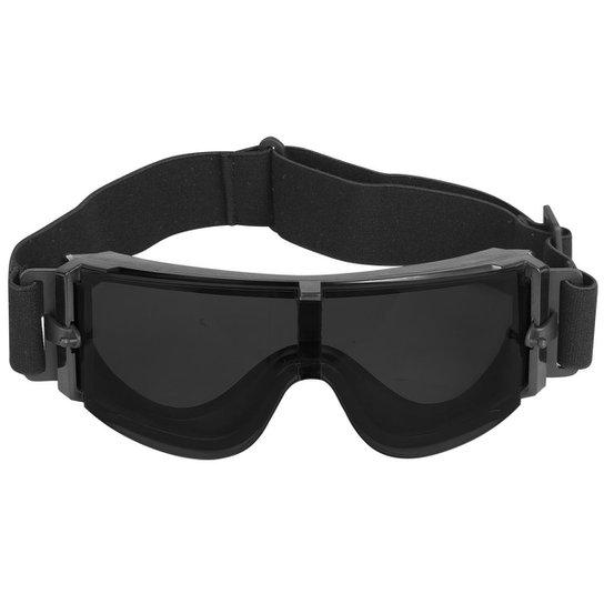 04d698696 Óculos de Proteção QGK USMC X800 Lente Escura - Preto | Netshoes