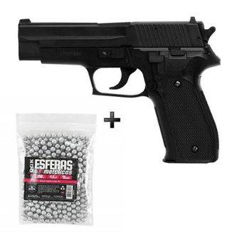 f50de2ce7b47c Kit Pistola De Pressão Spring Kwc Sig Sauer P226 4