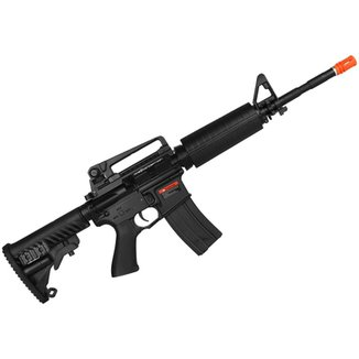 Rifle Airsoft Elétrico M4A1 Blow Black Full Metal